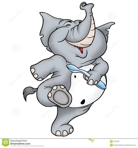 Dancing elephant stock illustration. Illustration of tusks ...