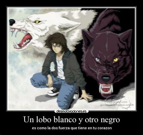 imagenes en blanco y negro de lobos un lobo blanco y otro negro desmotivaciones