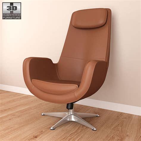 armchair ikea ikea arvika swivel armchair 3d model hum3d