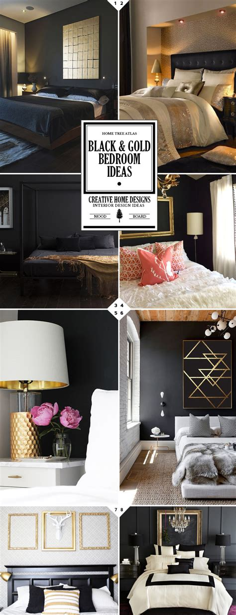black and gold bedroom designs style guide black and gold bedroom ideas home tree atlas