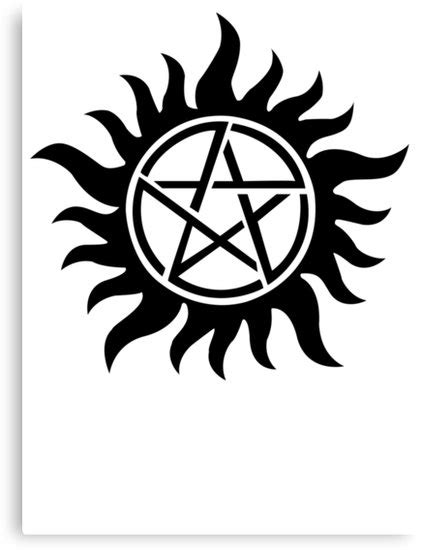 171 supernatural inspir 233 tatouage symbole anti possession