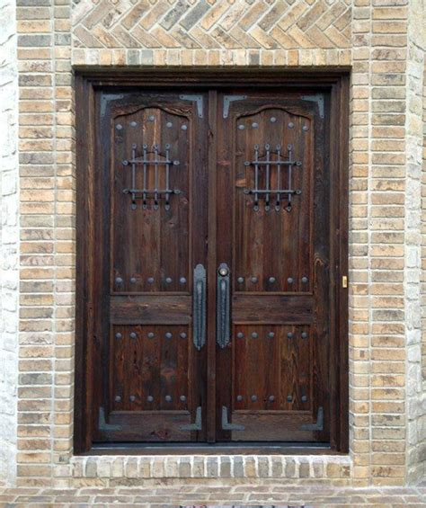 Solid Wood Doors Exterior Doors Amusing Solid Wood Entry Door Front Door Home Depot Wood Doors Exterior Solid Wood