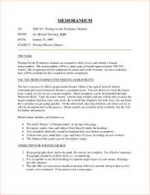 Business Letter Memo Format internal memo format memo formats