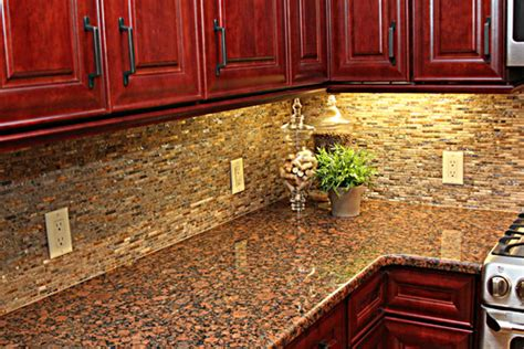 how to choose a backsplash with granite countertops why would you choose such a busy backsplash with a busy