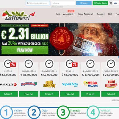 Lottosend – Nappaa loistava casino bonus ja pelaa nyt! Lottosend