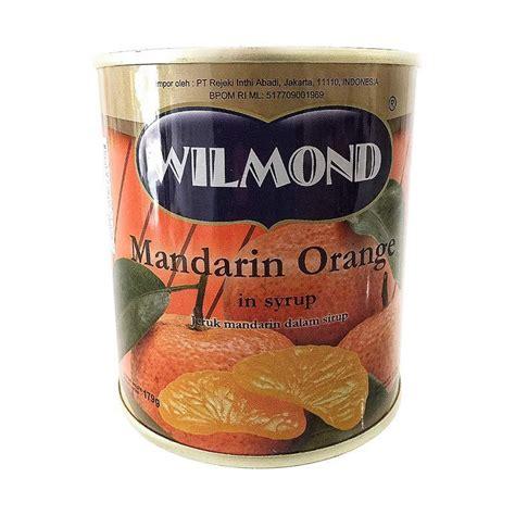 jual daily deals wilmond mandarin orange in syrup canned makanan kaleng 179 g harga
