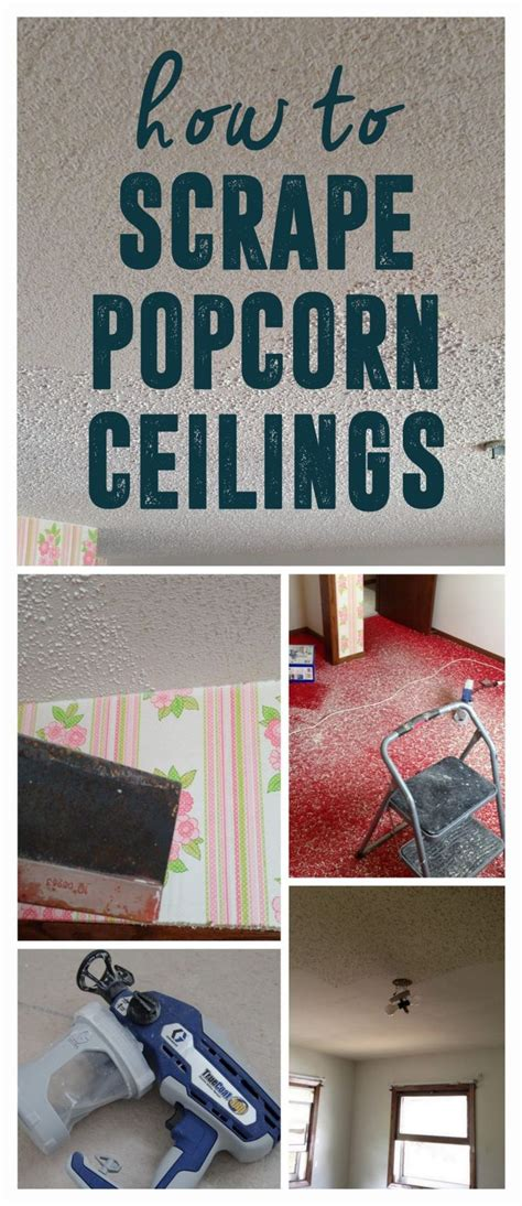 how do you remove popcorn ceilings 17 best ideas about remove popcorn ceiling on