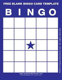 Bingo Card Template Free by Free Blank Bingo Card Template Bingocardprintout