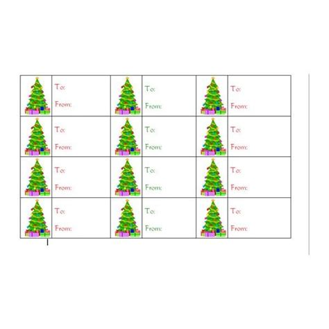 printable christmas gift tags word how to create christmas tree gift tags in word