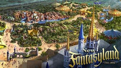 renderings of the new fantasyland at walt disney world