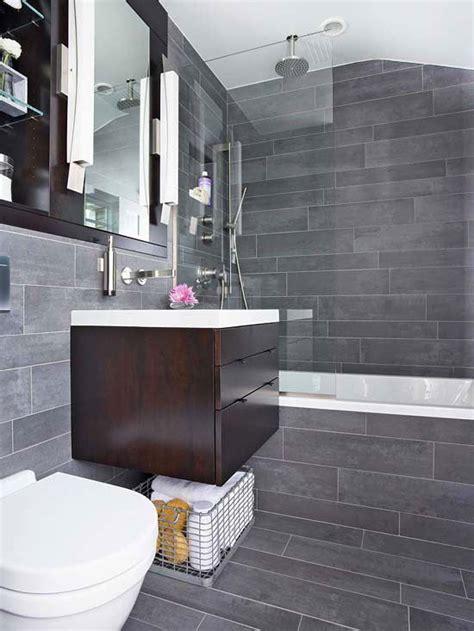 dark gray bathroom tile ideas  pictures upscale