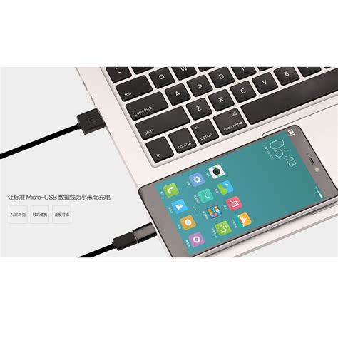 Original Kabel Data Xiaomi Type C Micro Usb xiaomi micro usb to usb 3 1 type c adapter converter