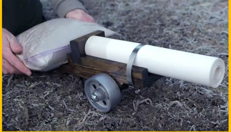 How To Make A Paper Cannon - a cannon made of paper sounds impossible well