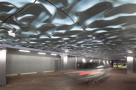 Paul Ceiling Design Paul Raff Studio Add Water Like Sculpture To Ceiling Of