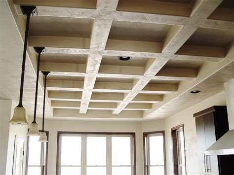 Coffered Ceiling Framing Three Ways To Add House Charm To A New Construction