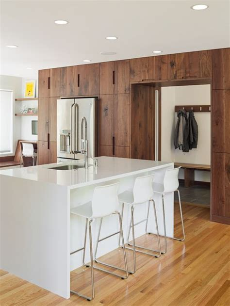 modern walnut kitchen cabinets modern walnut kitchen cabinets houzz