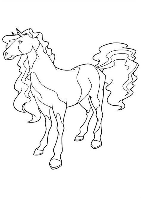 coloring pages princess horse princess linia s horse from horseland coloring pages