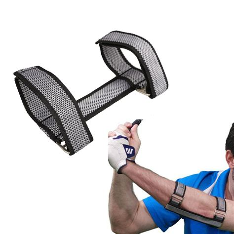 swing elbow golf beginners training aids golf swing straight practice