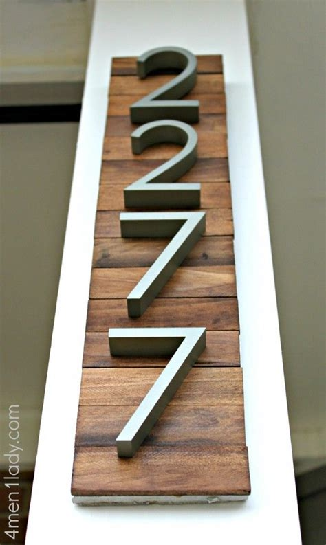 house address numbers 25 best ideas about diy house numbers on pinterest diy house signs house numbers