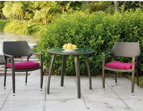 Patio Bistro Table And Chairs Patio Bistro Table And Chair Set Outdoor Pub And Bistro Sets Chicago By Home Infatuation