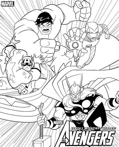 marvel coloring pages printable coloring home