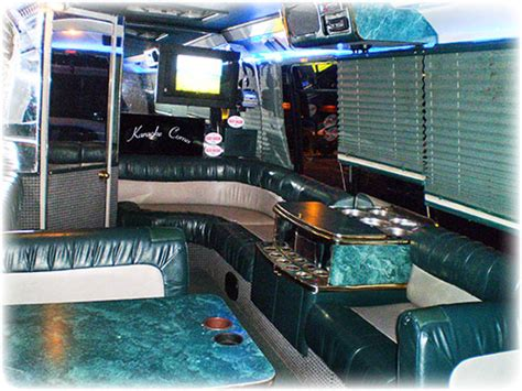 party bus with bathroom limos andrews limousine massachusetts transportation