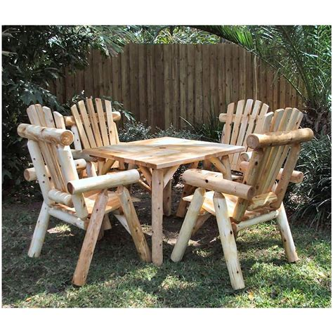 patio furniture lakeland fl lakeland mills 36 quot parquet table with four chairs 307368
