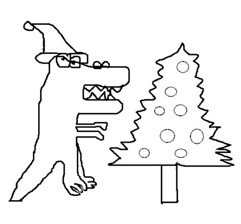 christmas dinosaurs coloring pages christmas dinosaur coloring page coloringcrew com
