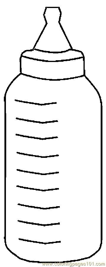 coloring page baby bottle printable coloring pictures of baby bottles coloring pages