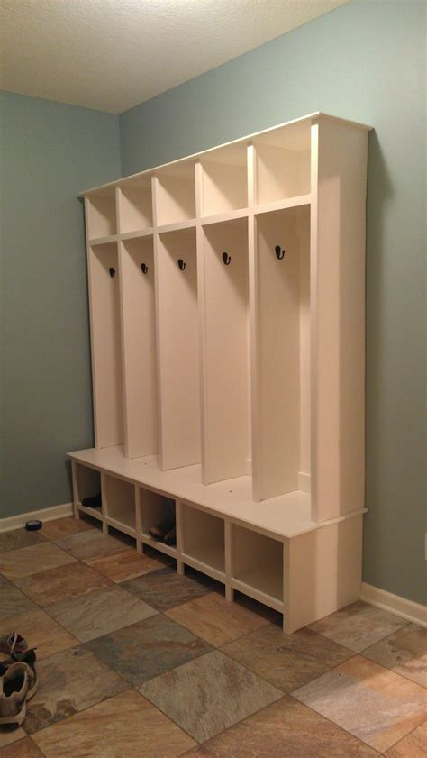 mudroom lockers with bench furniture vintage industrial stainless steel mudroom