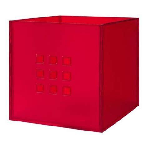 scaffali expedit box lekman rosso per expedit scaffali scatole