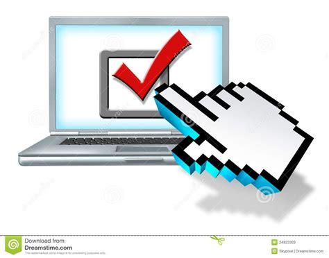 Internet Survey - internet survey vote stock photos image 24823303