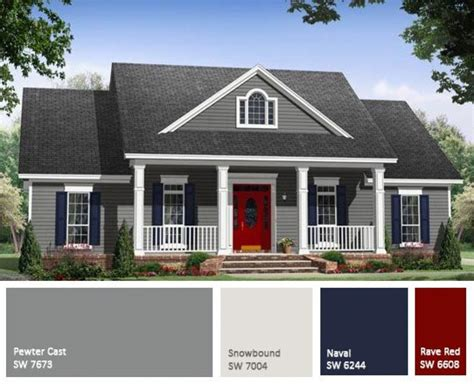 paint palettes for home choosing exterior paint colors for homes theydesign net