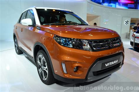 Orange Suzuki 2015 Suzuki Vitara Orange Front Three Quarter At The 2014