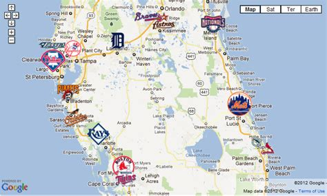 grapefruit league map grapefruit league cactus league terminology the baseball journal