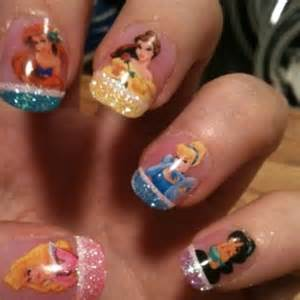 disney princess nails beauty pinterest