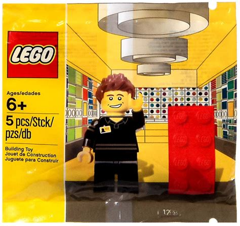 Sale Lego 5001622 Lego Store Employee lego exclusives store employee mini set bagged 5001622 on sale at toywiz