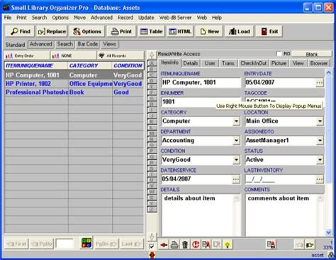 Churchpack Management Solutions Software For Windows Software Asset Management Database Template