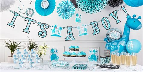 Baby Shower City by Blue Safari Baby Shower Decorations City