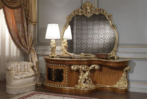 Luxury Classic Bedroom Roman Baroque Style Baroque Bedroom Furniture