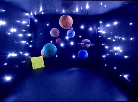 solar system room solar system project for by joumana adham diy solar system projects solar