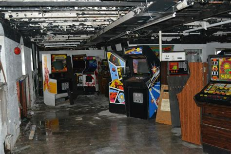 theme hotel hacked arcade games 50 classic arcade games saved from derelict cruise ship