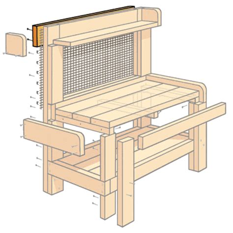 potting bench design how to build a potting bench gardens search and cloths