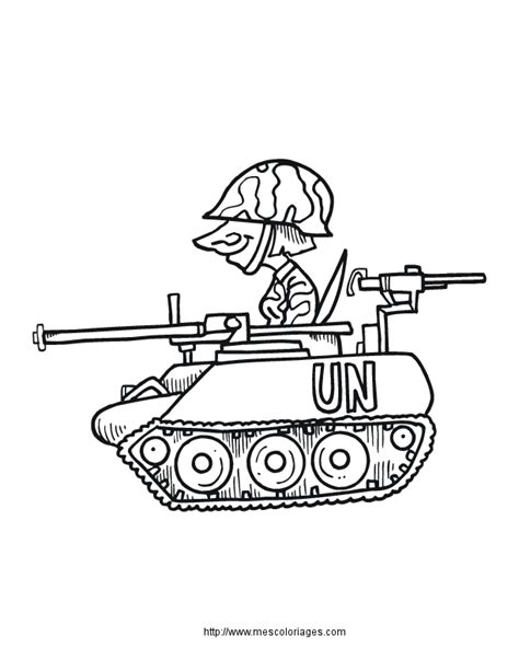 The Tank Coloring Pages Coloriage Les Transports Militaires 224 Colorier Allofamille