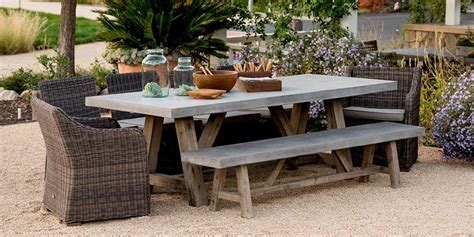 concrete outdoor dining table concrete outdoor furniture a stylish and smart addition
