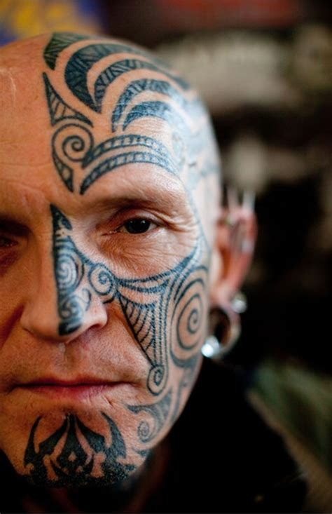 tribal tattoo on face ideas on best 2015 designs and