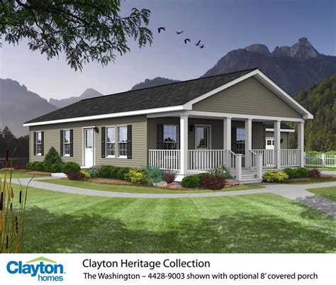 clayton mobile homes prices photos the washington 4428 9003 81hnh28443ah clayton