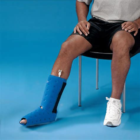 table mountain foot and ankle foot ankle wrap donjoy arcticflow foot ankle wrap