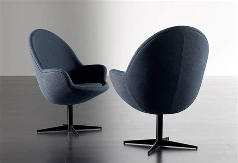 Rotary Chair by Rotary Chair With A Frame Made Of Metal Meridiani