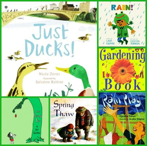 the rainy year books ducks and gardening reading as a